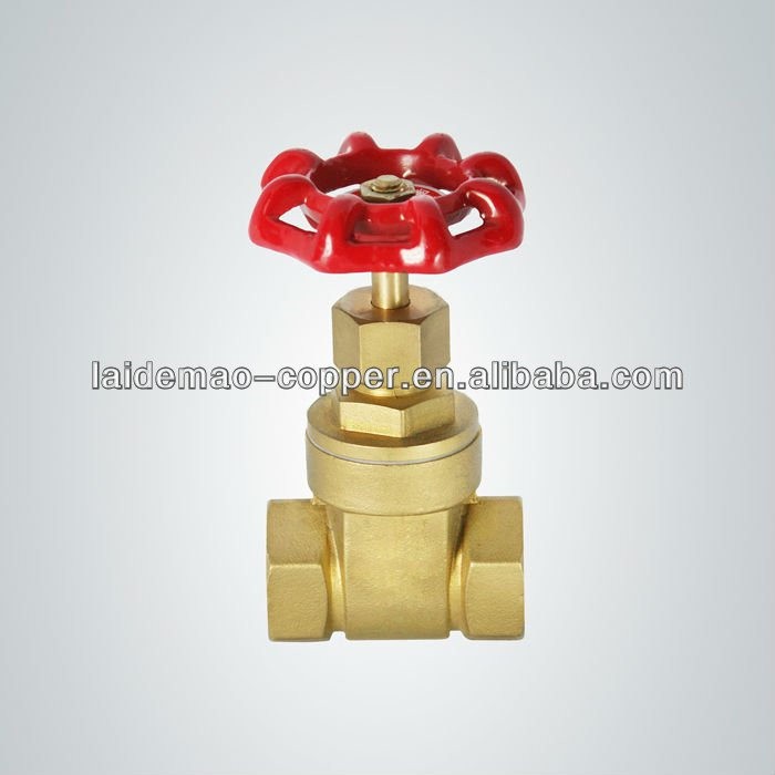 hot selling Brass gate valve auto part with cast iron handle