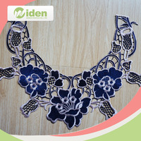 Widentextile Free Sample Available Hot Selling Cheap Neckline Eembroidery Designs