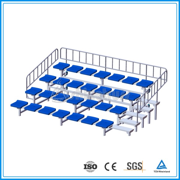 Low Cost outdoor Portable seating system telescopic auditorium seating