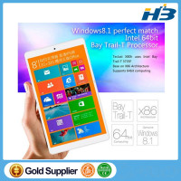 HOT Teclast X80HD 8 inch Dual Boot Intel Bay Trail-T Quad Core Tablet Windows 10 and Android 4.4 PC 2GB RAM Original