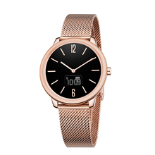 3atm Water Resistant Stainless Steel Strap F3 for Women and Men Digital Elegant Quartz Hybrid Smart Wrist Watch Manufacturer