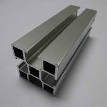 High-end special shape white aluminium caravan window frame profile anodized