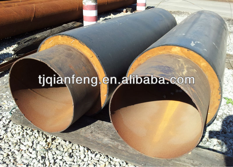 polyurethane foam thermal insulation steel pipe for oil and gas