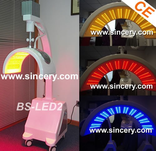 Led/pdt Skin Care Machine / Red Light Therapy For Wrinkle Removal