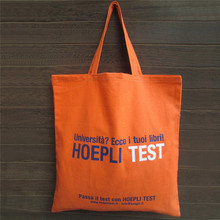 Custom Promotion wholesale tote cotton bag with brand logo