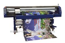 High speed colorful sublimation flag banner printer machine ADL-1600B