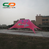 china suppliers aluminum frame used canopies advertising pink ouble top star tent for sale