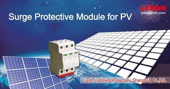 1000V 40KA dc pv surge protective device for solar project