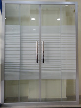 bathroom glass shower screen for Middle East market D707