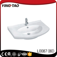 Ceramic basin restaurant wash sink portable hand sink glass washing sink