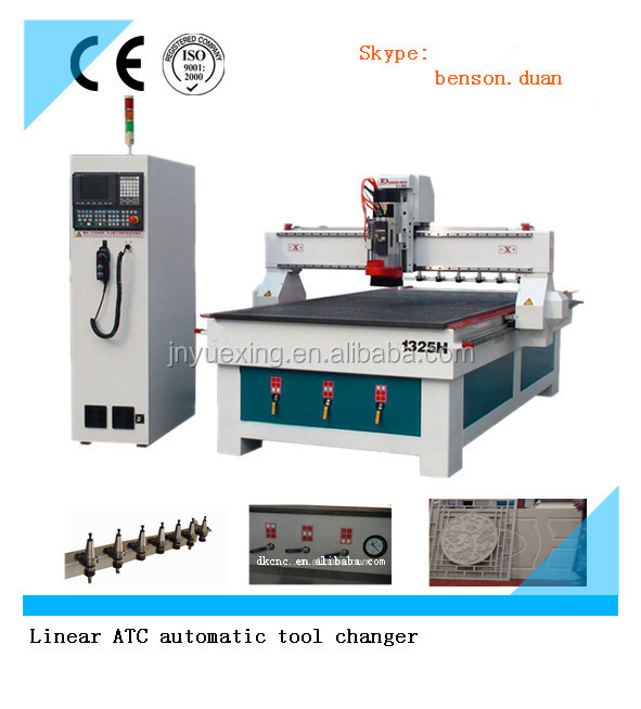electric wood router atc chinese cnc machining center/auto tool change cnc router machine