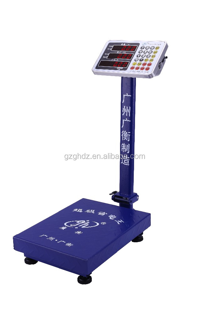 Hot in market big display electronic price computing platform scale