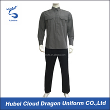 Autumn solid color law enforcement office uniform designs for men