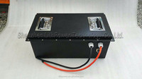 High power 24v 60ah wheelchair lithium ion battery pack in metal housing