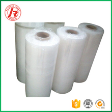 Plastic wrapping film for PE transparent