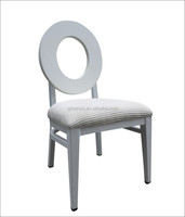 foshan factory supply white wedding chair for banquet