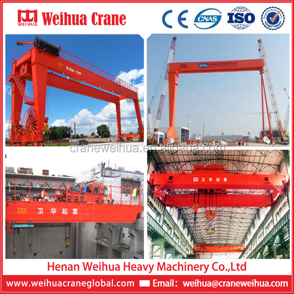 WEIHUA Single Or Double Girder Gantry Crane Overhead Crane Manufacturer In China