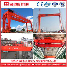 WEIHUA Single Or Double Girder Gantry Crane Overhead Crane Supplier In China