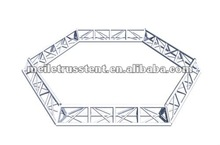 Aluminium Alloy Hexagonal Circle Roof Truss ML-T007