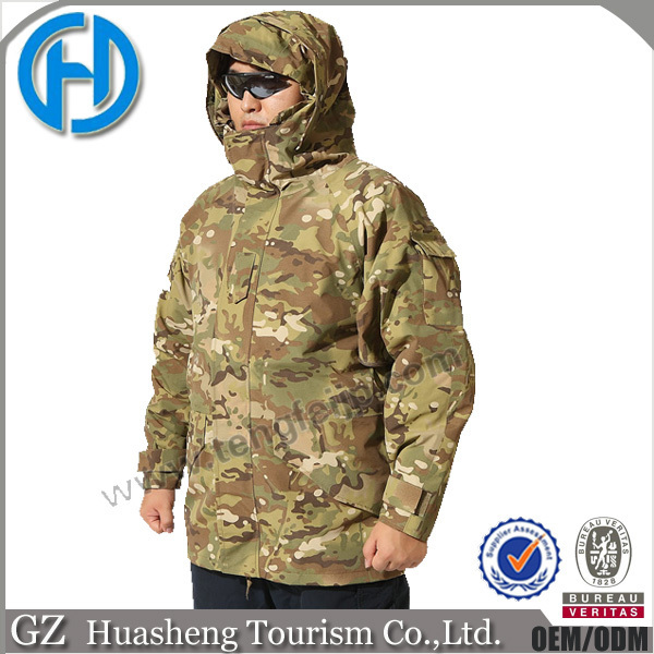 wholesale detachable caps winter men multicam camo military jackets