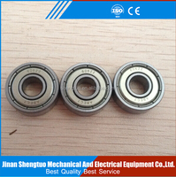 original WST deep groove ball bearing 6009 high precision with good speed rating used in machine