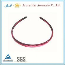 pink single bow alice band
