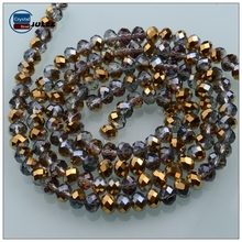Pujiang manufacturers crystal bead strand fancy japan glass bead