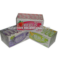 Dafa 5+1 super star fruity flavor sticks chewing gum
