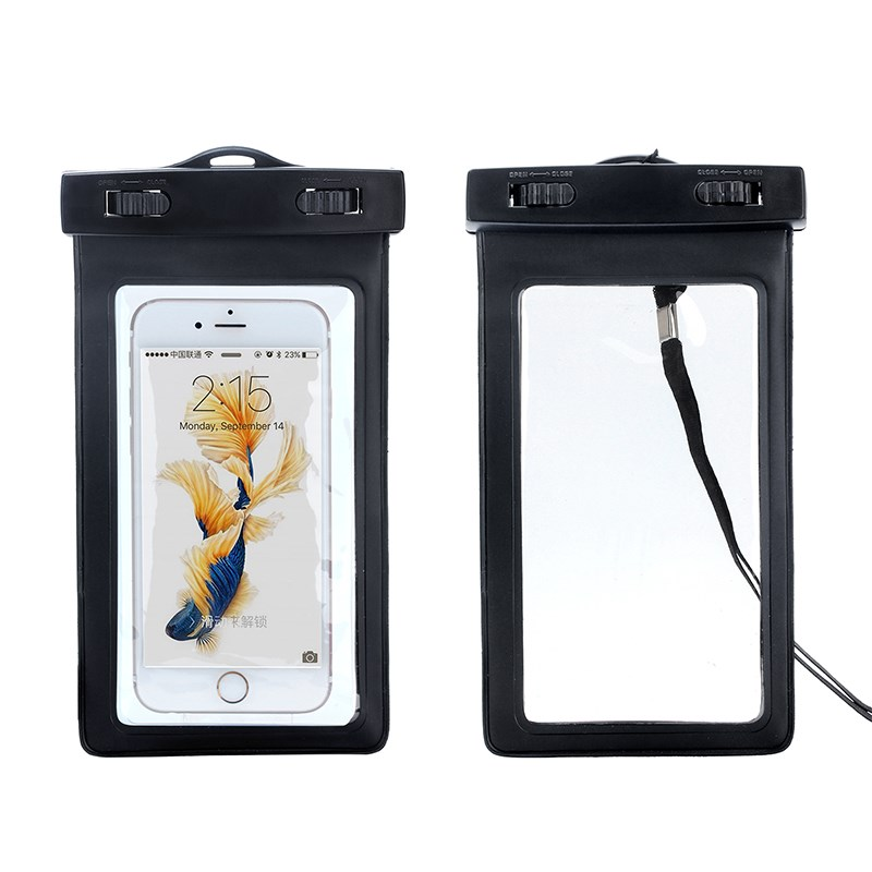 IPX8 certified Seal PVC phone waterproof bag