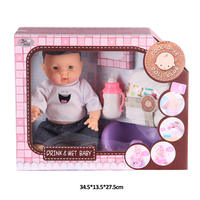 Wholesale 12 inch doll fashion doll baby love doll child size baby playing set for girl