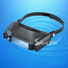Illuminated LED Lamp Headband Magnifier