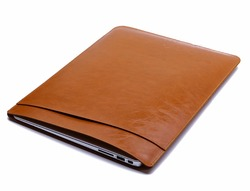 Hot selling Genuine leather tab case with slots for ipad pro 12.9 case for ipad pro
