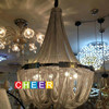 Modern Soscik Ceiling Chandelier Light Silver