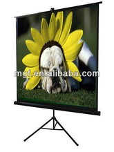 100 inch 4:3 Yes portable and economic tripod projector screen