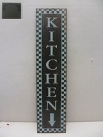 "Hot Sale Wooden Plaque Words ""Kitchen"" Wall Decoration"