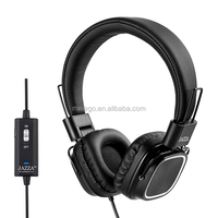 3.5mm Active Noise Cancelling Earmuff Headphone With MIC JAZZA ANC-J3