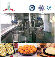 Rice crisps production line