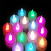 Electronic candle lights LED candles Colorful small night light