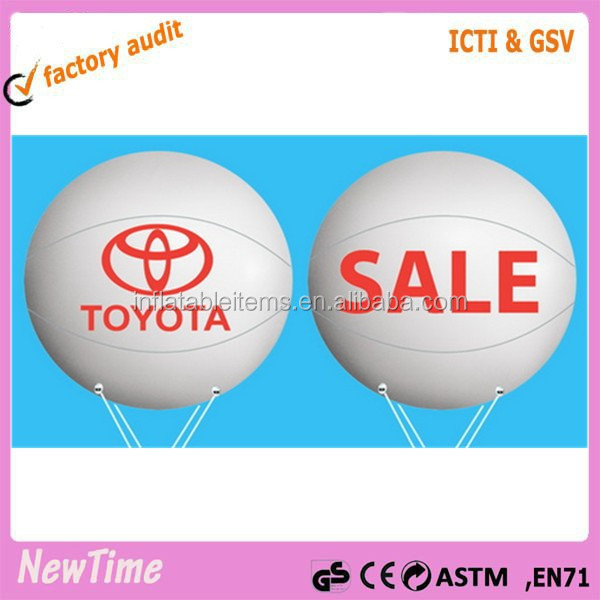 gaint advertising PVC inflatable helium balloon