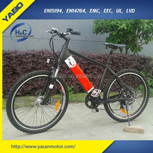 2015 Electric Bicycles battery hidden In Frame YB-MEB-008M