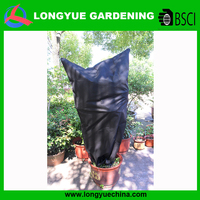 Handmade high quality protective nonwoven plant pot cover