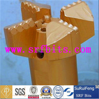 4 blades PDC bit/PDC cutter certified by API and ISO,oil and gas drilling equipment,drilling for groundwater