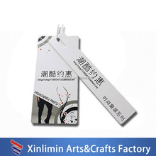 newest custom high quality new hang tag design