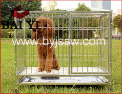Eco-Friendly PVC Dog Kennels With Wheels Wholeslae