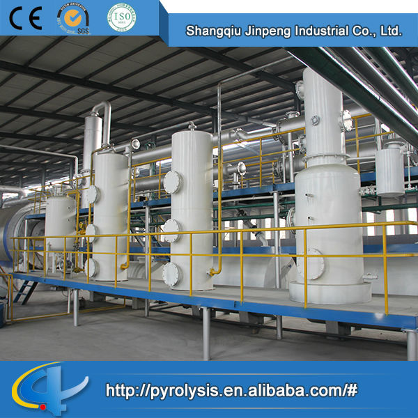 Hot Sale Top Quality Best Price Waste Tyre Recycling Machinery to Make Fuel Oil