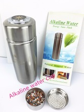 Newest and hot selling product 380ml Nano Meter Water Cup with PH 8-10. OEM with your logo.