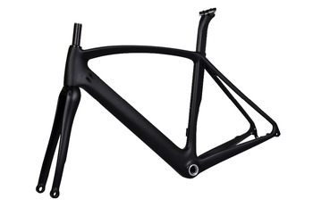 DengFu FM099 new design disc brake road frame carbon aero disc frame road