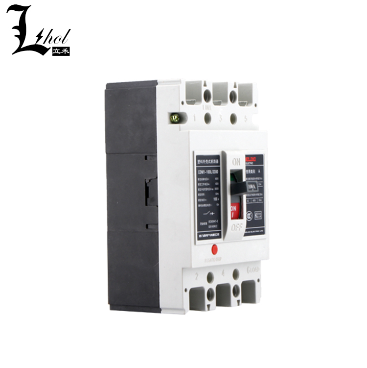 200A Molded Case Electrical Breaker CDM1 3P MCCB