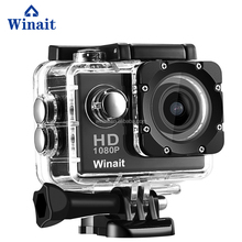 2016 Factory Promotion hottest720P action camera cam full hd action cam waterproof full hd 720p sports camera