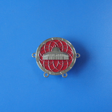 3D custom logo special design soft enamel color promotional gifts metal badge